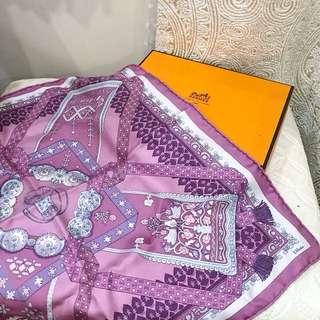 HERMES 絲巾