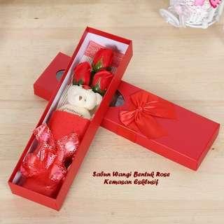 Sabun Wangi Bentuk Bunga Model 3 Bunga