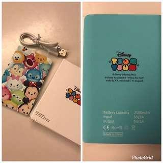 Tsum Tsum Power Bank 尿袋 充電器 迪士尼