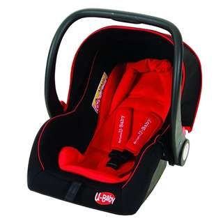 U-BABY - INFANT CARSEAT CS326A (RED/BLUE)
