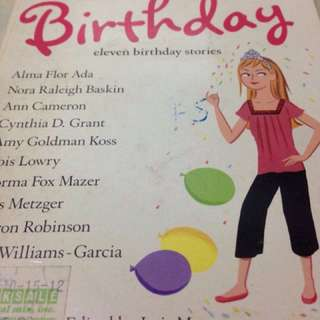 The year we missed my birthday 11 stories