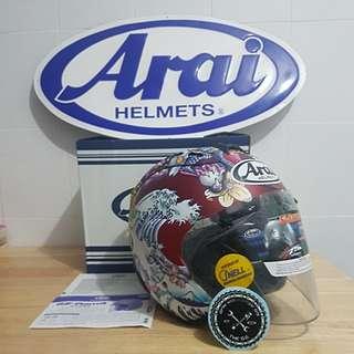 Arai Ram4 Oriental Matt Red For Sale..
