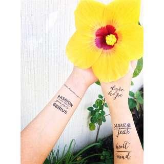 Non-Toxic Temporary Tattoos!