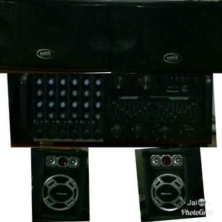 Sound System (Speakers&Equalizer)