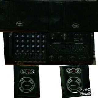 Sound System (Speakers&Equalizer)