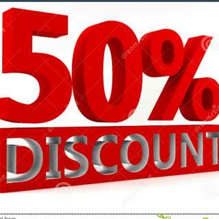 📣 50% Off For 🎋
