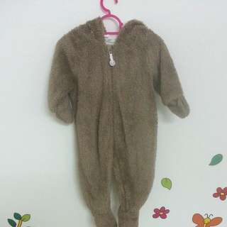 H&M Baby Bear Suit For 4-6mos