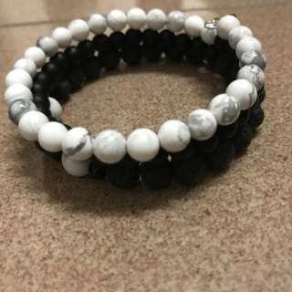 Calm diffuser wrap bracelet