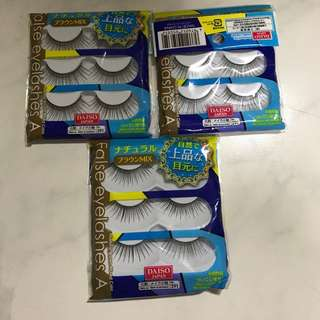 BN falsies x 3 sets