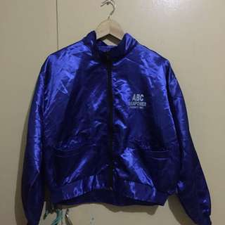 Silk Blue Jacket