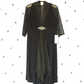 (Repriced!!) Onyx Nite Black Formal Dress