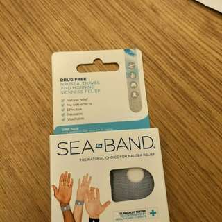 Sea band for adult one pair each