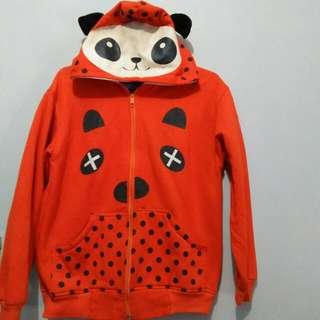 [REPRICE] Jaket fleece panda