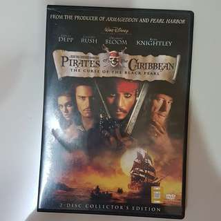 DVD - Pirates of the Caribbean (The Curse of The Black Pearl)