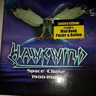 Music CD (Box Set): Hawkwind–Space Chase 1980-1985
