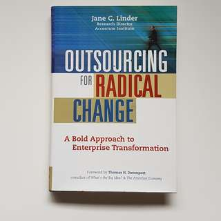 OUTSOURCING FOR RADICAL CHANGE