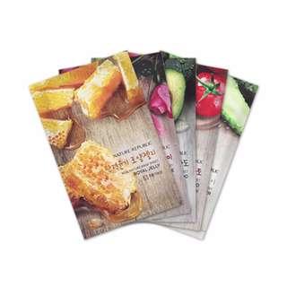 PROMO-BUNDLE NATURE REPUBLIC Hot Selling Real Nature Mask Sheet 9pcs