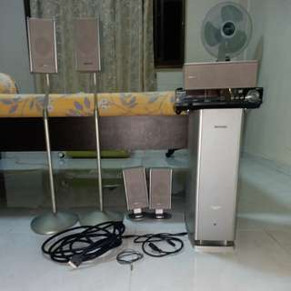 Panasonic DVD system and speakers