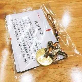 日本 狗狗金幣 吊飾