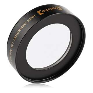 Opteka Achromatic 10x Diopter Macro Lens for Nikon, Canon, Sony, etc