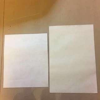 Vintage Wax Envelope