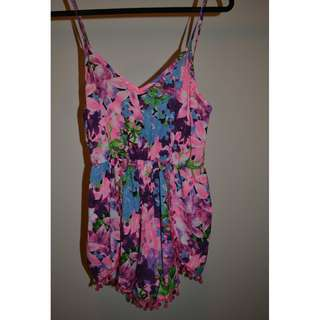 Coulorful Playsuit