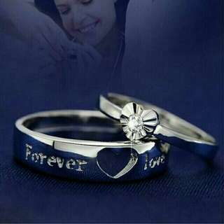 Price Drop!! Forever Love Couple Ring