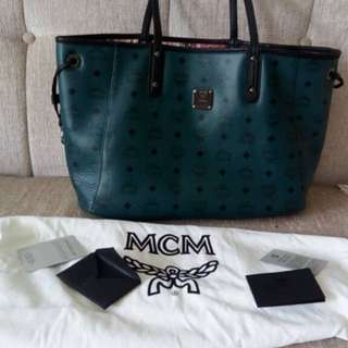 Authentic MCM Revertible Shopping tote