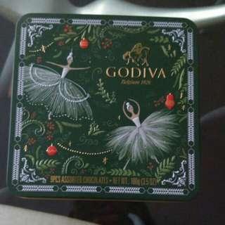 Collectable Tin - Godiva