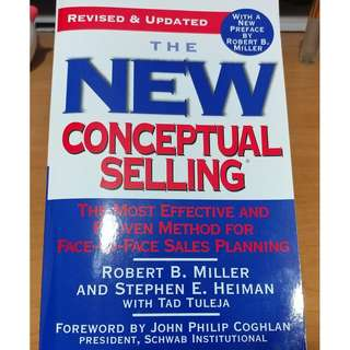 The New Conceptual Selling (trade)
