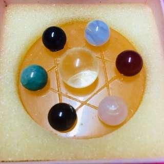 六芒星水晶擺設