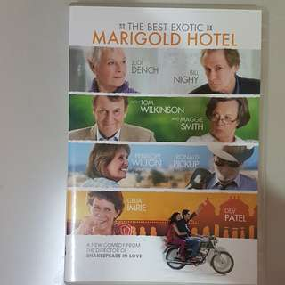 DVD-THE BEST EXOTIC MARIGOLD HOTEL