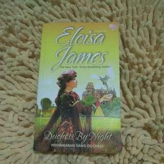 "Novel ""Duchess By Night =Penyamaran Sang Duchess"""