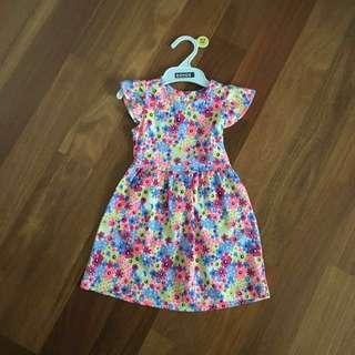 Mothercare Floral Dress 18-24m