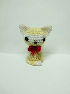 Handmade Crochet Cat