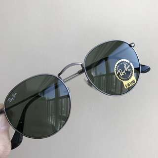 ray ban round metal rb3447 50mm size rayban brand new full packages