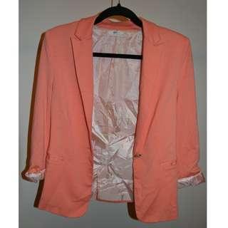 Peach/Orange Blazer