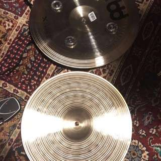 """Meinl Cymbals GX-12/14XTS Generation-X 12"""" and 14"""" Auxiliary Extreme Stack Cymbal Pair"""