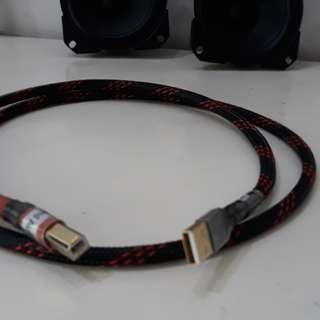 1.2 Meter Digital USB A/B Hi-Fi Interlink Cable