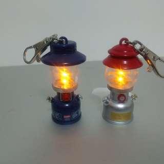 Coleman營燈扭蛋共兩隻