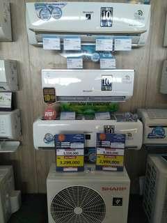SHARP Air Conditioner Bisa Dikrdit Dp0% Proses Cepat