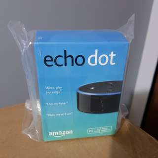 Amazon Echo Dot 2nd Gen (Brand New)