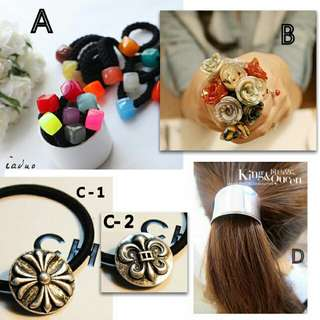 Fasion Many Pretty Hair clips Hair Bands.