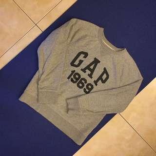 Gap kid 灰色 logo上衣