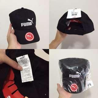 "INSTOCKS Black ""Puma"" Baseball Cap"
