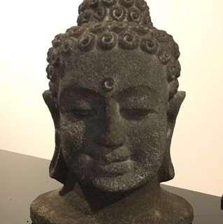 Buddha Head (8.5' H, 5.5' W)