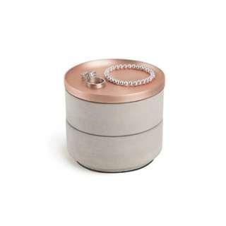 BNIB Umbra Tesora Jewellery Box