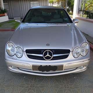 MERCEDES CLK 200 (14k milleage only)
