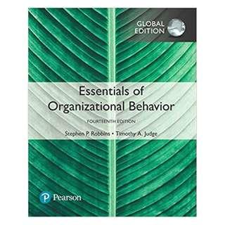 Essentials of Organizational Behavior, Global 14th Edition