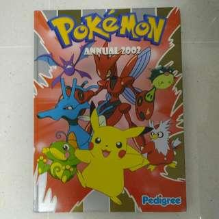 Pokemon Annual 2002 Collection Book (Hard Cover)